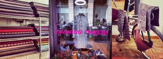Dashing Tweeds - New Shop - Press Release 2014 Kirsty