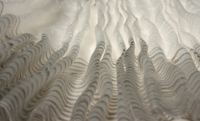 XRayFabricPleatSeries-Pleatflow detail