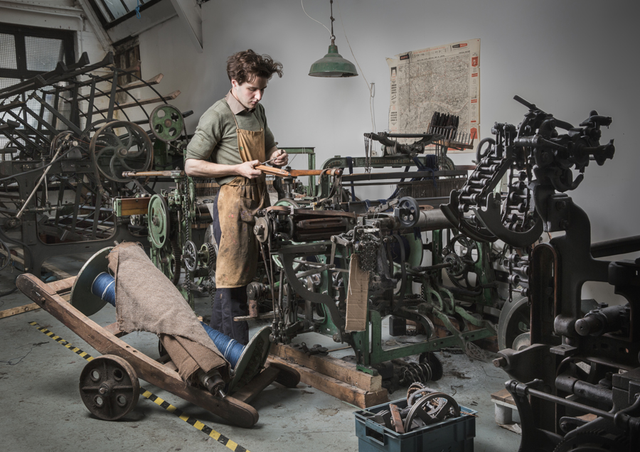 Daniel Harris at London Cloth Company