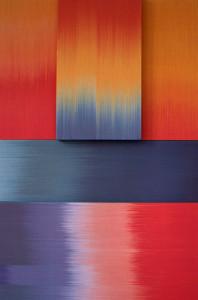 Ptolemy Mann Interlocking Colour Study - 2010 - 100 x 150cm