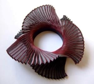 Ann Richards Triple Spiral neckpiece large