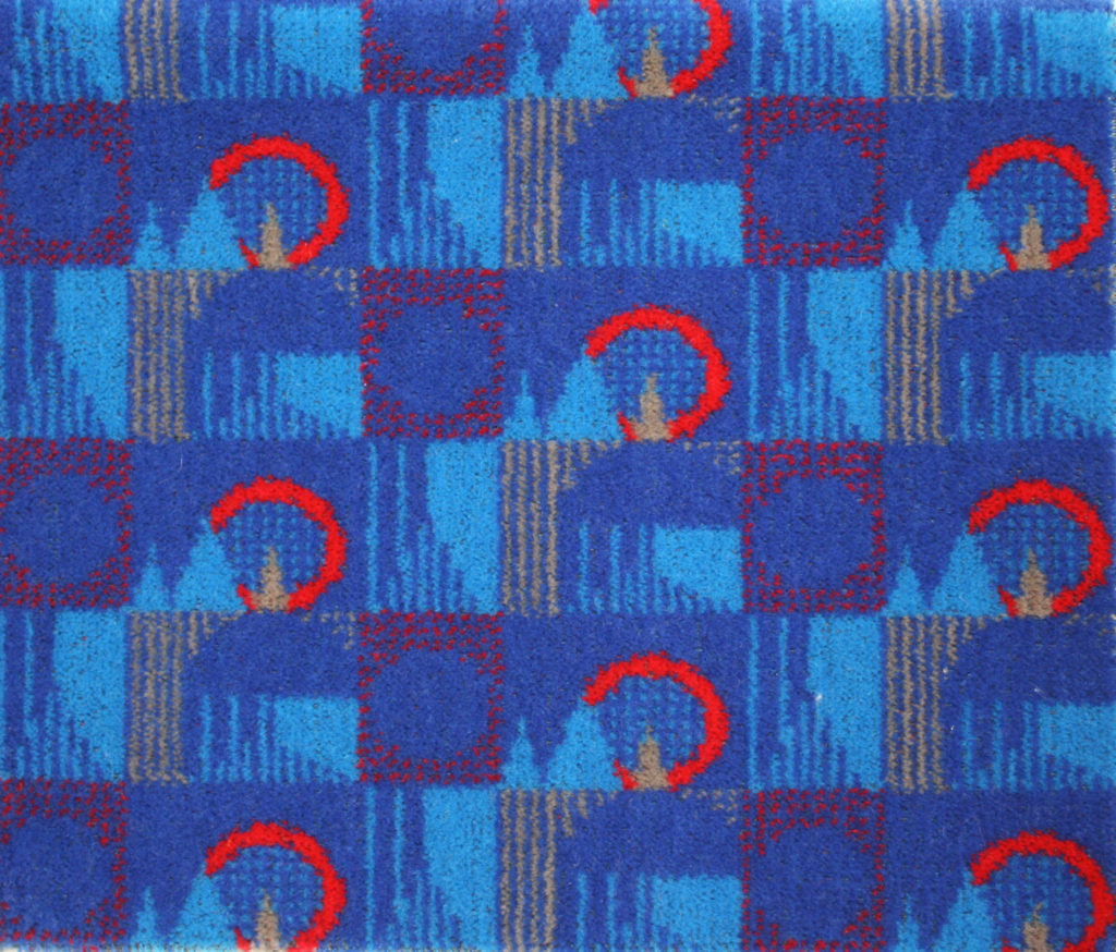 Exhibition weaving futures london transport museum for London underground moquette