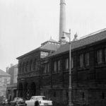 BATHS TO BOBBINS_Infirmary Street Baths, 1951. Copyright The Scotsman Publication Ltd. Licensor www.scran.ac.uk